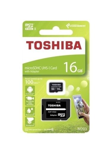 Toshiba 16Gb Mıcro Sdhc Uhs-1 C10 100Mb/Sn-Excerıa Renkli